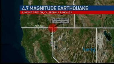 News video: 4.7 magnitude earthquake
